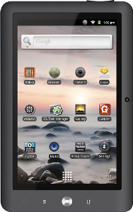 Coby Kyros Tablet with 4GB Memory - Black