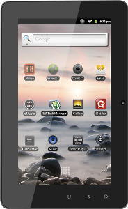 Coby Kyros Tablet with 4GB Memory and Capacitive Touch Screen - Black