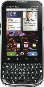 Motorola XPRT Mobile Phone - Black