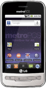 MetroPCS LG Optimus M No-Contract Mobile Phone - Silver