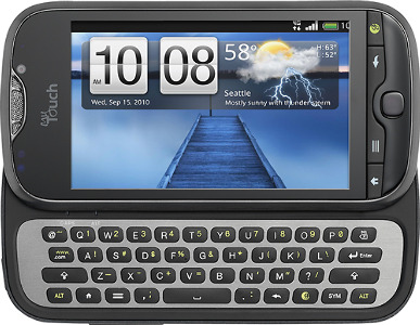HTC myTouch 4G Slide Mobile Phone - Black