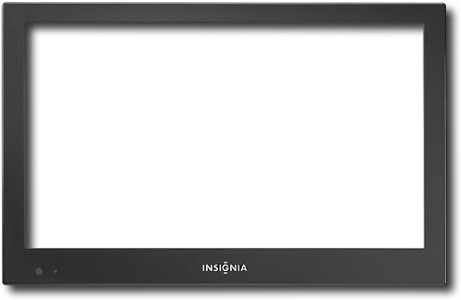 Insignia™ Bezel Faceplate for Select Insignia® HDTVs - Metallic Gray