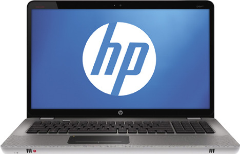 "HP Envy Laptop / Intel® Core™ i7 Processor / 17.3"" Display / 8GB Memory - Carbon Relic"