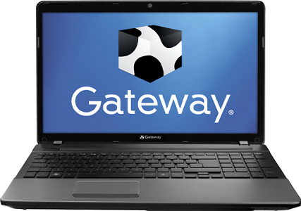 "Gateway Laptop / AMD A-Series Processor / 15.6"" Display / 4GB Memory - Ebony Black"