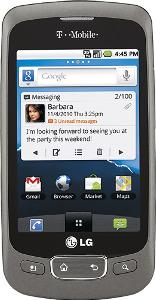 LG Optimus T Mobile Phone - Titanium