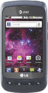 LG Phoenix Mobile Phone - Blue