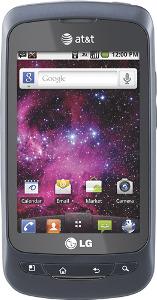 LG Phoenix Mobile Phone - Blue