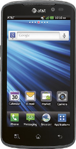 LG Nitro HD 4G Mobile Phone - Black