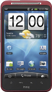 HTC Inspire 4G Mobile Phone - Red