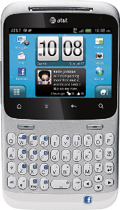 HTC Status Mobile Phone - White/Silver