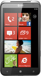 HTC Titan 4G Mobile Phone - Black