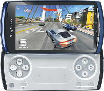 AT&T Xperia PLAY 4G Mobile Phone - Blue