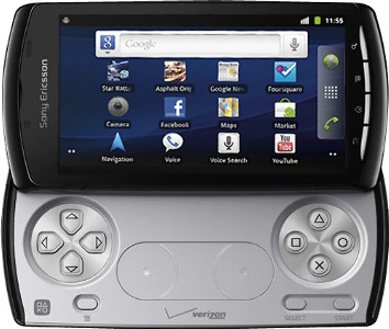 Sony Ericsson Xperia PLAY Mobile Phone - Black