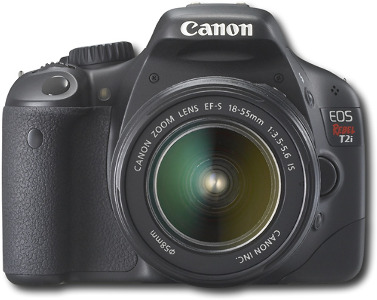 Canon EOS Rebel T2i 18.0-Megapixel Digital SLR Camera - Black