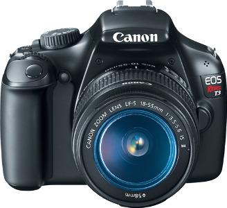 Canon EOS Digital Rebel T3 12.2-Megapixel Digital SLR Camera Kit