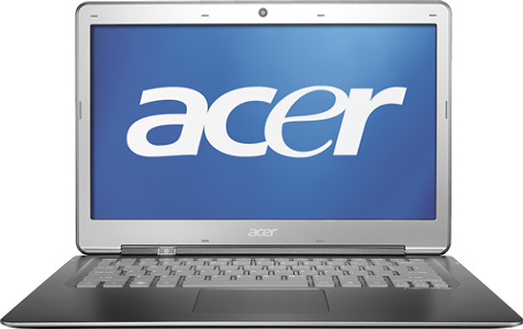 "Acer Aspire S3 Ultrabook Laptop / Intelå¨ Core™ i7 Processor / 13.3"" Display - Silver"
