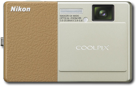 Nikon Coolpix 12.1-Megapixel Digital Camera - Champagne