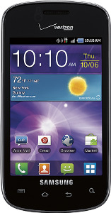 Samsung Illusion Mobile Phone - Black