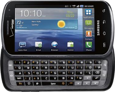 Samsung Stratosphere 4G Mobile Phone - Black
