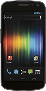 Samsung Galaxy Nexus 4G Mobile Phone - Black