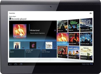 Sony Tablet S with 32GB Memory