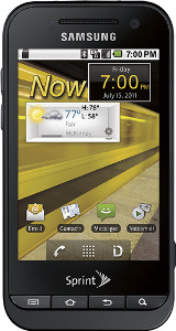 Samsung Conquer 4G Mobile Phone - Black