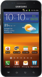Samsung Galaxy S II Epic 4G Touch Mobile Phone - Black