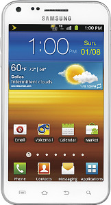 Samsung Galaxy S II Epic Touch 4G Mobile Phone - White