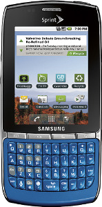 Samsung Replenish Mobile Phone - Arctic Blue