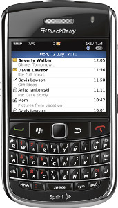 BlackBerry Bold 9650 Mobile Phone - Non-Camera - Black