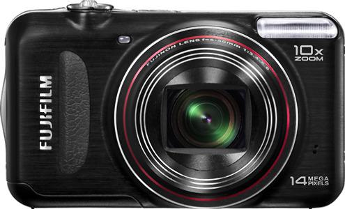 FUJIFILM FinePix T300 14.0-Megapixel Digital Camera - Black