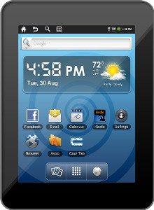 Velocity Micro Factory-Refurbished Cruz Tablet with 2GB Memory