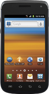 Samsung Exhibit II 4G Mobile Phone - Blue/Silver
