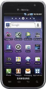 Samsung Galaxy S 4G Mobile Phone - Metallic Black