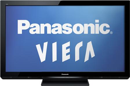 """Panasonic 50"""" Class / 720p / 600Hz / Plasma HDTV"""