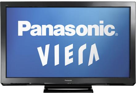 """Panasonic 50"""" Class / Plasma / 720p / 600Hz / HDTV"""