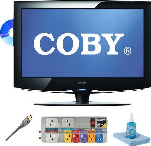 "Coby 23"" Class / 1080p / 60Hz / LCD HDTV DVD Combo"