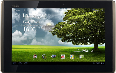 Asus Eee Pad Transformer Tablet with 16GB Storage Memory - Brown/Black