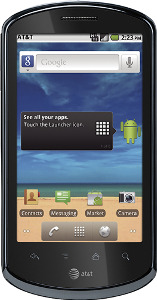AT&T Impulse 4G Mobile Phone - Black
