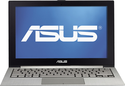 "Asus Zenbook Ultrabook Laptop / Intelå¨ Core™ i7 Processor / 13.3"" Display - Radiant Silver"
