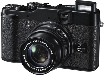 FUJIFILM X10 12.0-Megapixel Digital Camera - Black