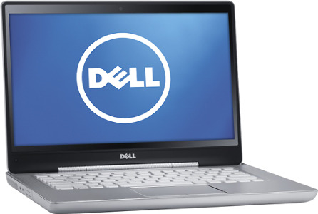 "Dell XPS Laptop / Intel® Core™ i7 Processor / 14"" Display / 8GB Memory - Elemental Silver Aluminum"