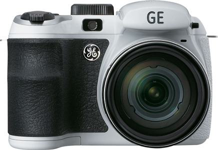GE Power Pro Series X500 16.0-Megapixel Digital Camera - White