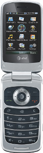AT&T Z331 Mobile Phone - Silver