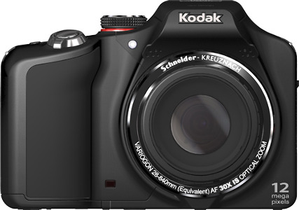 Kodak EasyShare Z990 Max 12.0-Megapixel Digital Camera - Black