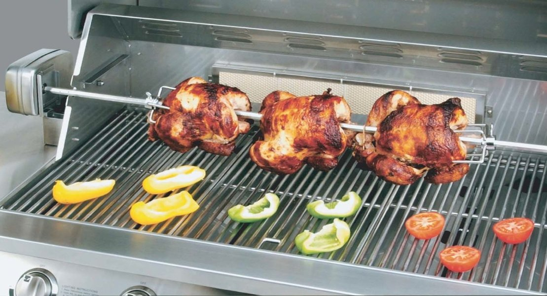 Kitchenaid Ss Rotisserie Kit Electric Barbecue Grill