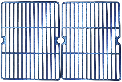 matte finish cast iron cooking grid