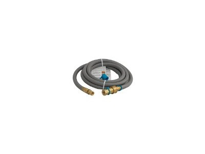 """1/2"""" 10 Ft Natural Gas Grill Hose w/ Brass Connectors"""