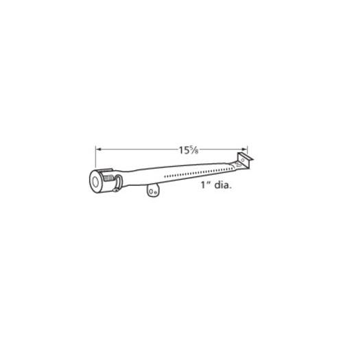 stainless steel straight pipe burner 15 5/8