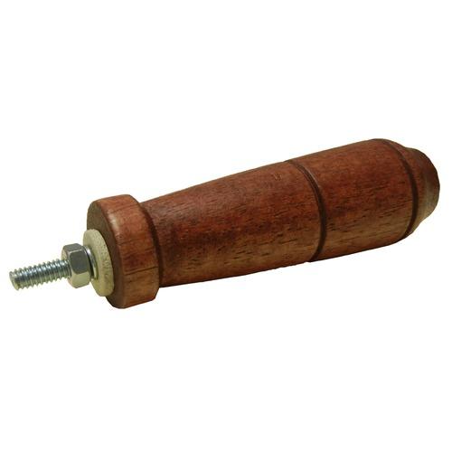 Hardwood lid handle